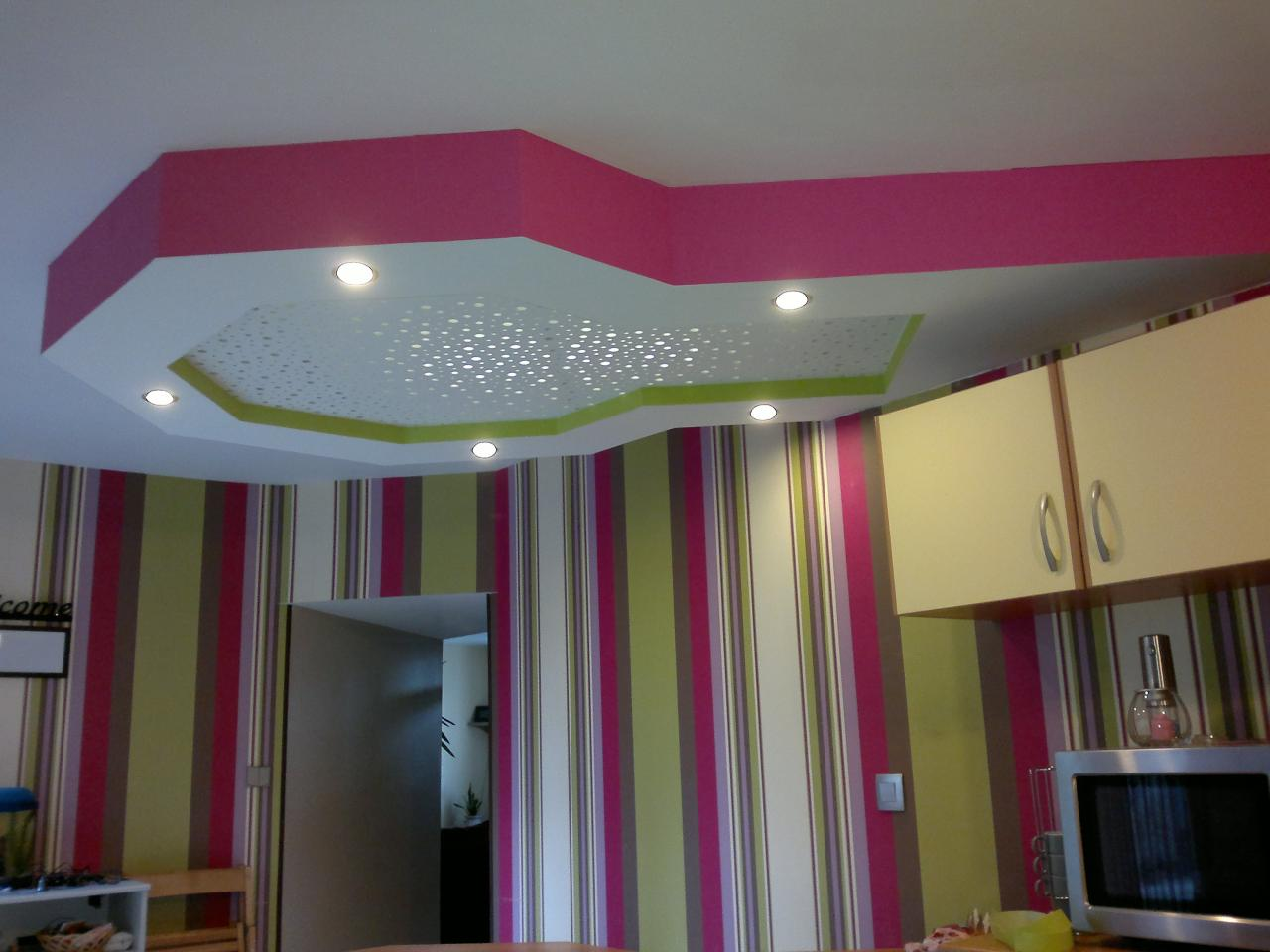 Ba13 design for Deco faux plafond placo